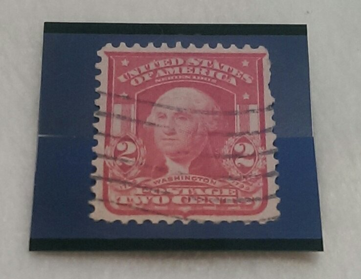 Two Cent Red Washington Stamp ($14,000)