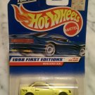 Hot Wheels Collectible, 1998 First Editions, Mercedes SLK