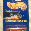 Hot Wheels Collectible, '65 Mustang Convertible, #162