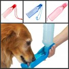 Portable Pet Dog Cat Travel Water Drink Bowl Bottle Dispenser Feeder Fountain