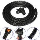 Black 2M Cable Organizer