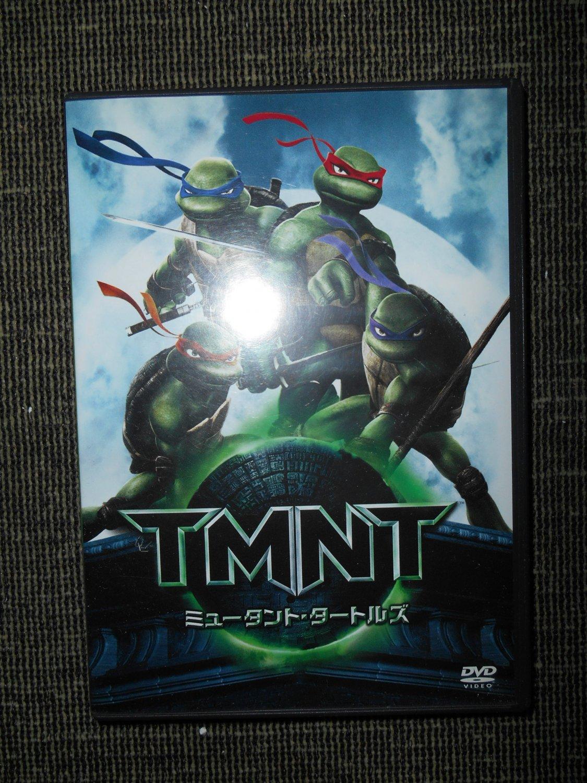 TMNT Movie - DVD   Region 2   Japanese dubbed   Japanese DVD