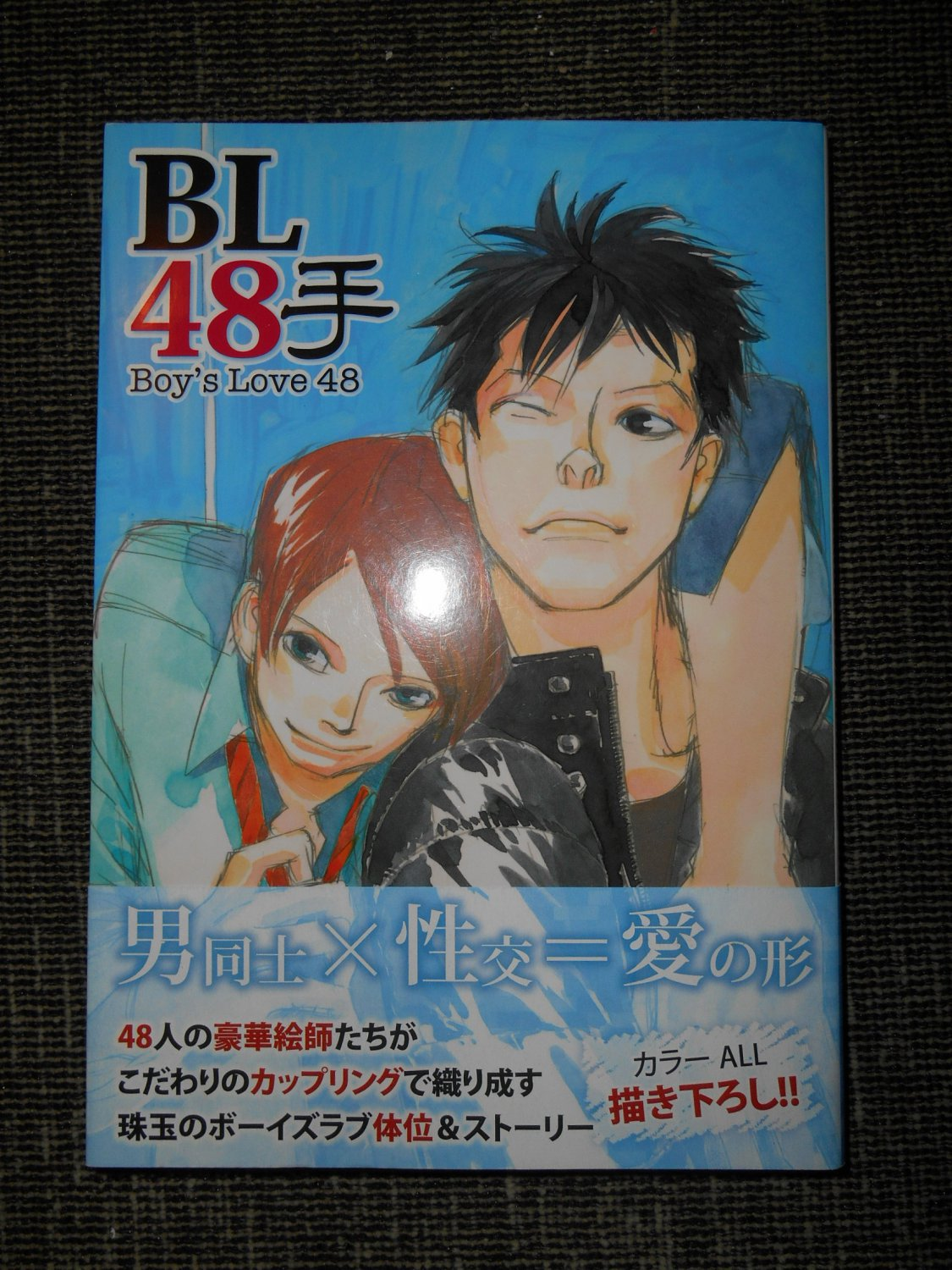 Boy's Love 48, Japanese Yaoi Manga & Yaoi Novel |  Japanese Book