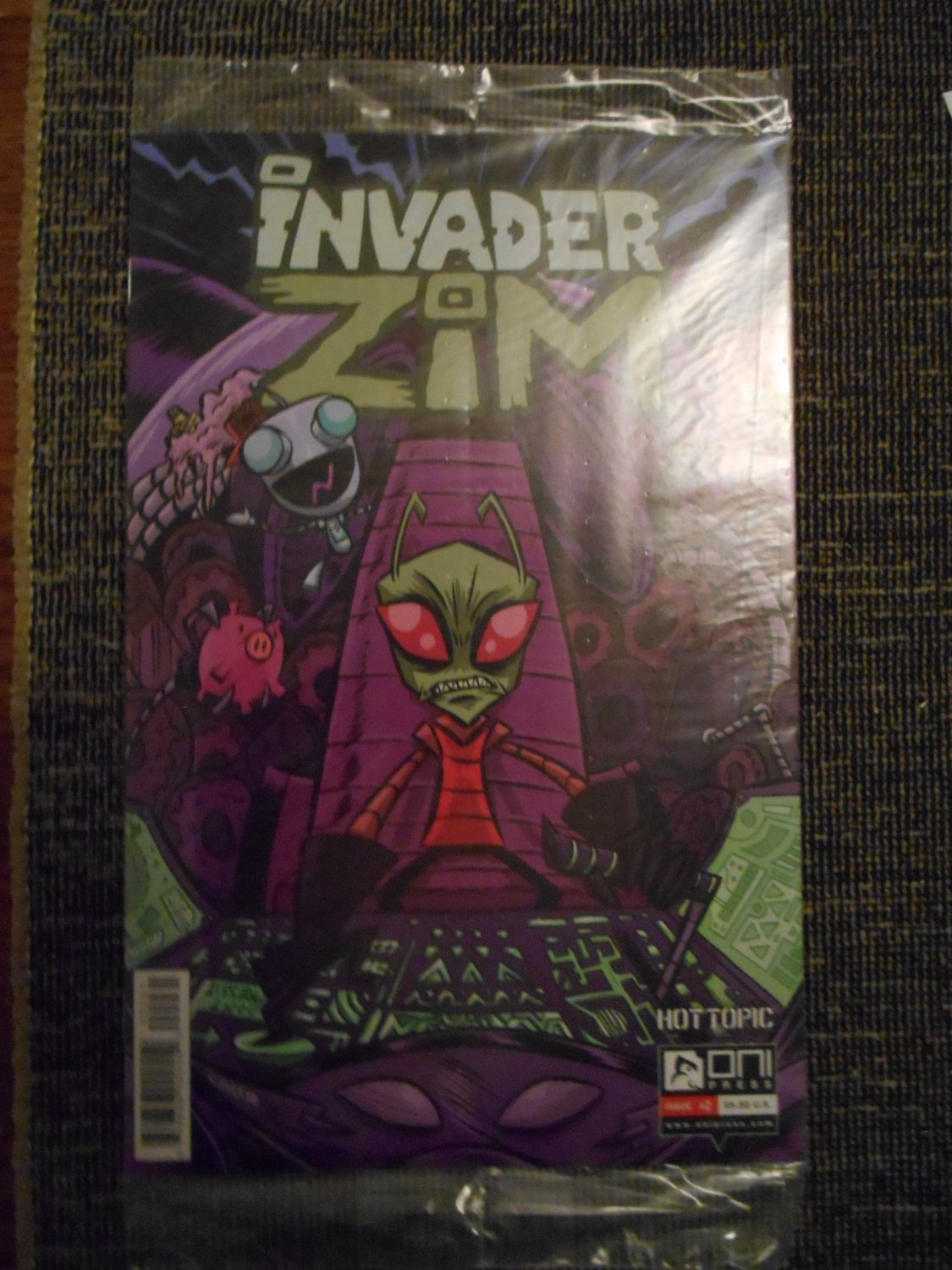 Invader Zim Comic - Issue 2- Jhonen Vasquez - Rare - Hot Topic Variant - Oni Press - New - Mint