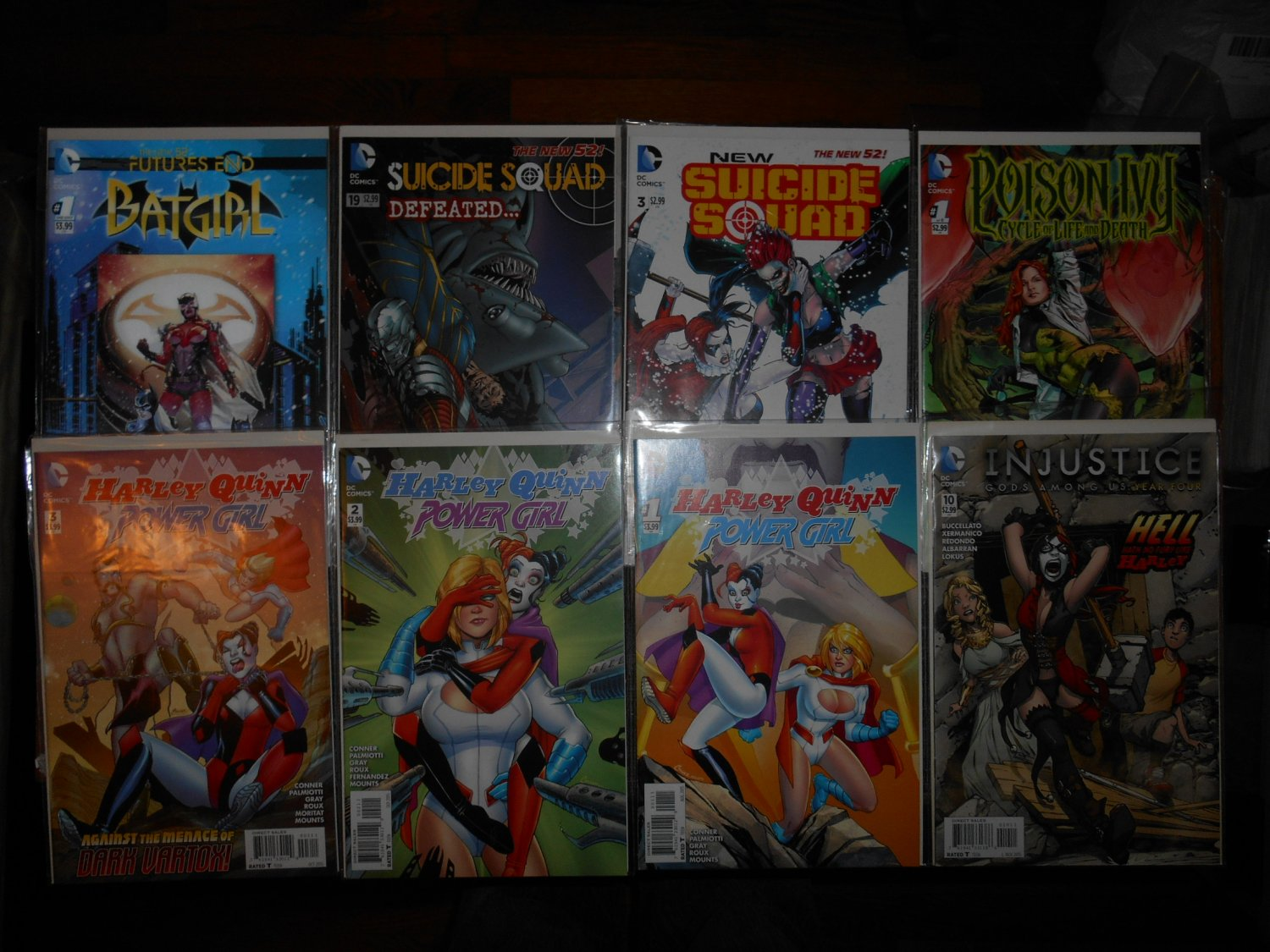 Mixed DC Comics - Rare - Harley Quinn, Poison Ivy, Suicide Squad - Fine