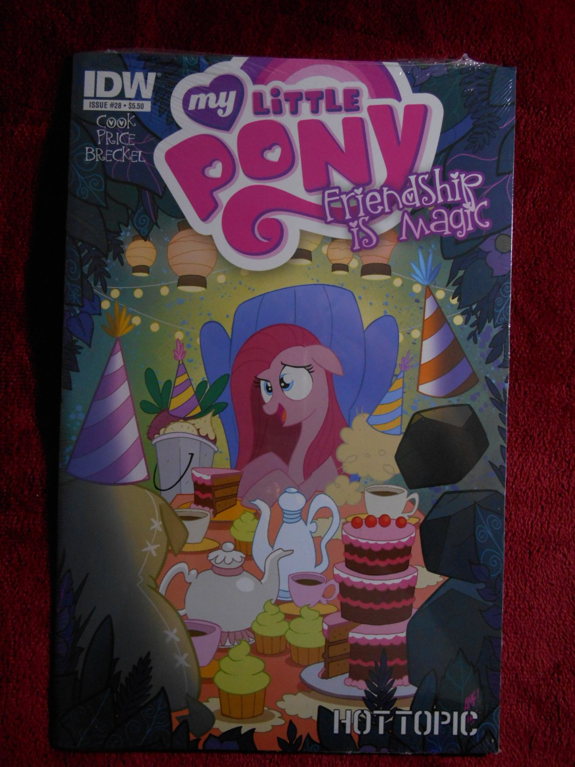 My Little Pony Friendship is Magic Comic - # 28 - Hot Topic Variant - Rare - IDW Comics - New -
