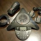 Polycom SoundStation2 (2201-16200-601) Ex with Power Supply & 2 Microphones