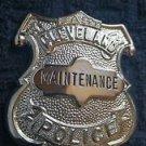 Obsolete MAINTENANCE East Cleveland OHIO Police Badge