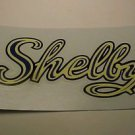 Shelby Blue Script Bicycle Tank Pair Decals. Best Printing!