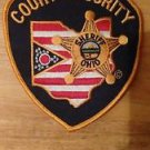 State of Ohio Deputy Sheriff Patch Court Security Court Officer Bailiff