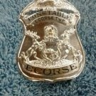 Obsolete Style Prohibition Era Ecorse Township Constable Breast Pin Back Badge