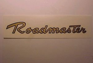 Late Style Roadmaster Balloon Cruiser Bicycle Tank Pair Decals Best Printing