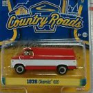 Greenlight 1/64 Country Roads 1976 Chevrolet G20 Beauville Van