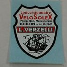 Velosolex Moped Dealer Decal 2200 3800 4600 5000 MOTOBECANE Peugeot Style 2