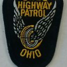 State of Ohio Highway Patrol State Police Uniform Breast Badge Patch