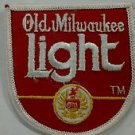 Vintage Old Milwaukee Light Beer Advertising Uniform Patch 1970s Pabst