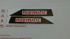Motobecane Moped Mobylette Mobymatic Cady Moped Side Cover Decal Pair 40 50 #2