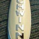 Genuine Schwinn Cream White Bicycle Headbadge Badge EXCELSIOR Panther Phantom