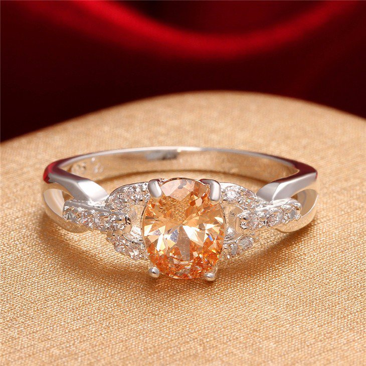 Champagne Ring Size 8