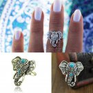 Elephant Head Adjustable Ring