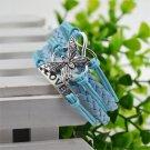 Blue Infinity Butterfly Love Bracelet