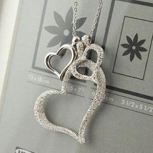 Floating Triple Heart Necklace