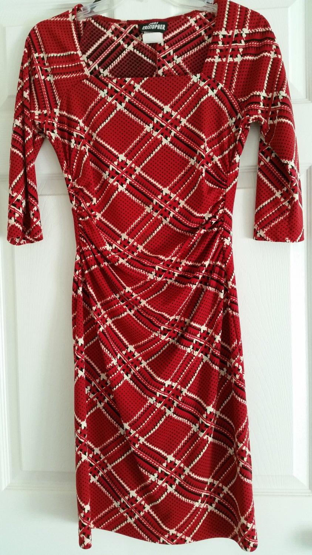 Red/Black Dress Designed By Jody Kristopher Size Medium