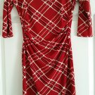 Red/Black Dress Designed By Jody Kristopher Size Medium