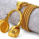 Hip Hop Fashion Gold Plated Microphone Pendent Necklace