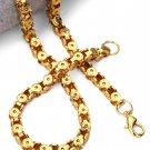 Hip Hop Fashion Gold Plated 75cm x 0.55cm Necklace