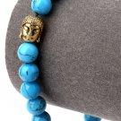 Hip Hop Fashion Orchid Stone 0.8cm Bead Bracelet
