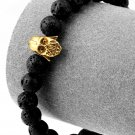 Hip Hop Fashion Lava 0.8cm Bead Bracelet