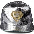 Hip Hop Fashion Unisex Alligator Pattern Crystals Diamond Tag Silver Baseball Cap