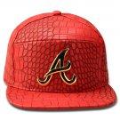 Hip Hop Fashion Unisex Alligator Pattern A Tag Red Baseball Cap