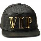 Hip Hop Fashion Unisex Alligator Pattern VIP Tag Black Baseball Cap