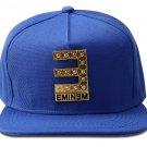 Hip Hop Fashion Unisex Crystals E Tag Blue Baseball Cap