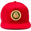 Hip Hop Fashion Unisex Epoxy Pharaoh Tag Red Baseball Cap
