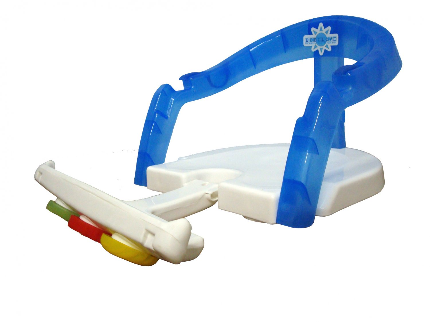 Foldable Bath Seat Support Safety Baby Chair Bathing With Toys & Easy Entry
