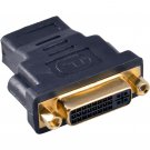 DVI-I Female to HDMI Female F/F Adapter Converter Coupler 24+5 pin