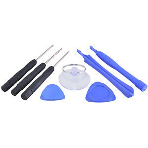 7 Piece Opener Pry Tool & Pentalobe Screwdriver Kit for iPhone 5 5S 5C 4 4G 4S