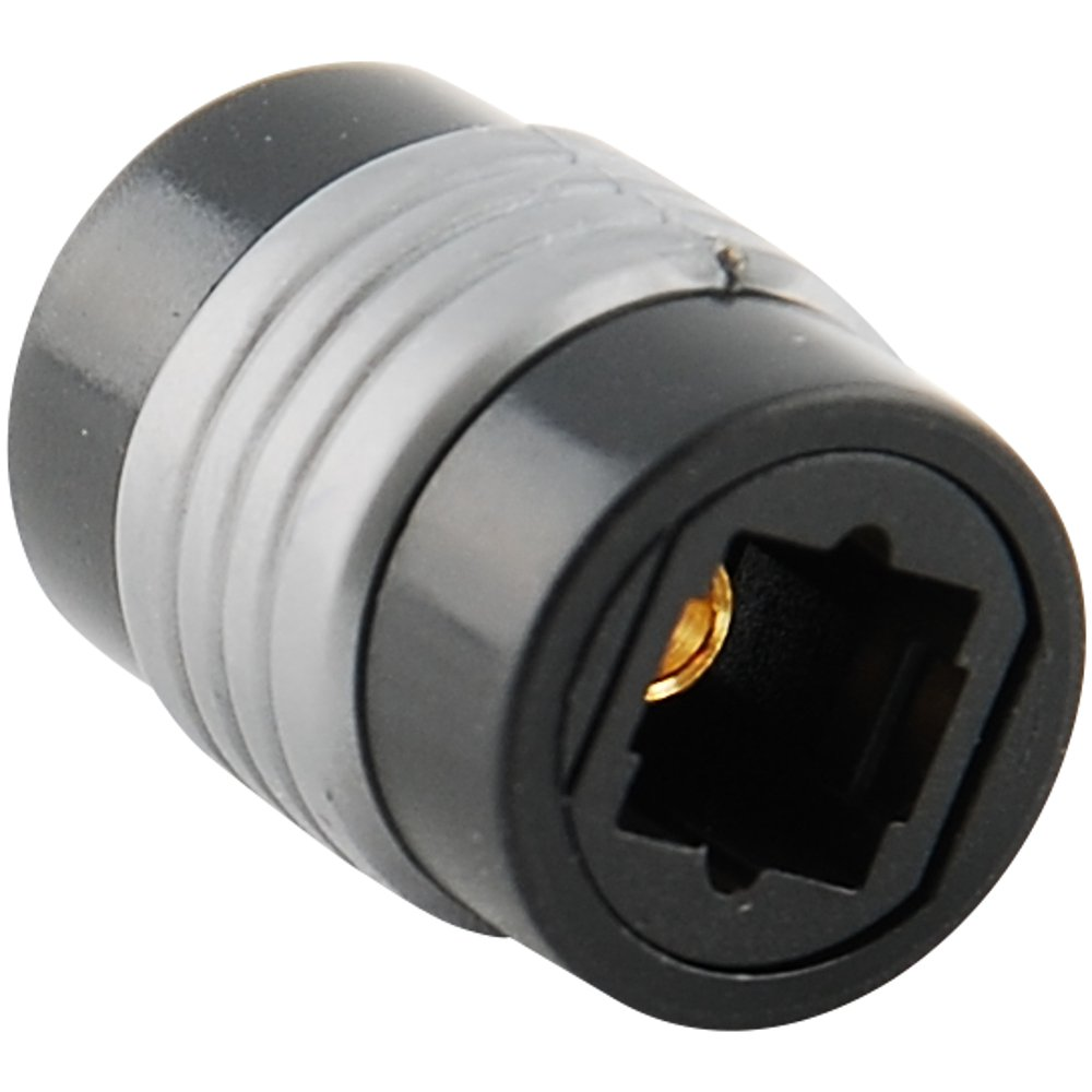 (5-pack) TosLink Optical Coupler Digital Audio Fiber Optic Female Extension 5X