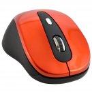2.4GHz Wireless Optical Mouse + USB Receiver for Desktop Laptop PC - Orange