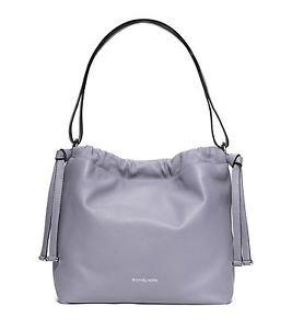NWT MICHAEL KORS Angelina Large Leather Shoulder Purse Bag ~ Lilac