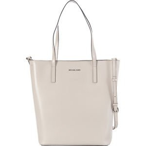 BNWT~ Michael Kors Leather Emry Large North/South Convertible Tote~ CEMENT