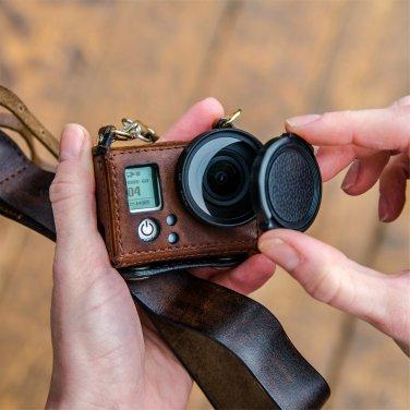 GoPro Hero 3/3+ handmade brown leather case