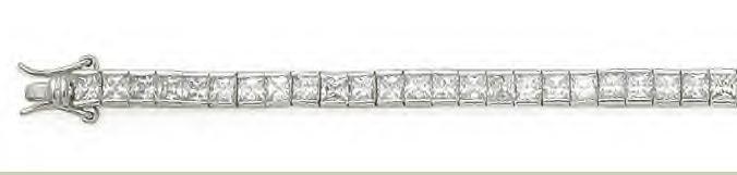 Princess Cut Tennis Bracelet