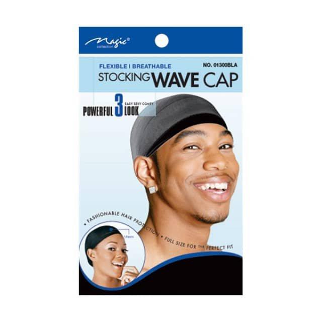 Magic Collection Stocking Wave Cap-01300BLA
