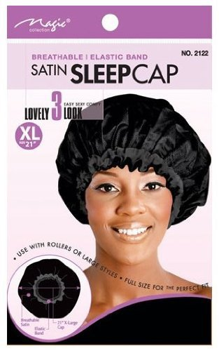 Magic Collection Satin Sleep Cap-2122