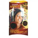 Magic Collection Organic Argan OIl Treated Super Jumbo Day night Cap-3015BLA