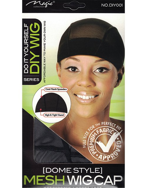 Magic Collection Do It Yourself DIY Wig Dome Style Mesh Wig Cap-DIY001